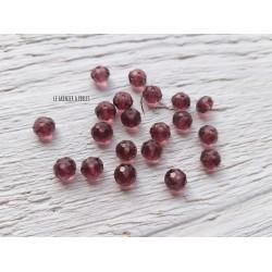 Perles Abacus 6 mm Amethyst  X 20