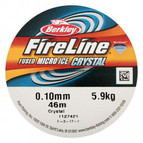 Fil FIRELINE 0.10 mm * Crystal * 46 m