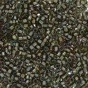 DB1773 Sparkling Beige Lined Grey AB x 5 gr  Delicas MIYUKI 11/0