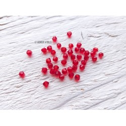 Toupies 3 mm Rouge X 50