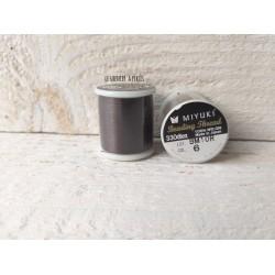 MIYUKI nylon beading thread B * Brown  N° 06