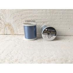 MIYUKI nylon beading thread B * Bleu  N° 17