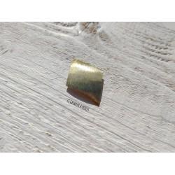 Pendentif Losange 4.5 x 3 cm * Laiton Doré