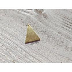 Pendentif Triangle 3.2 x 2.3 cm * Laiton Doré