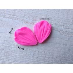 Moule Fleur Chrysanthème * Moule silicone pour pâte polymère