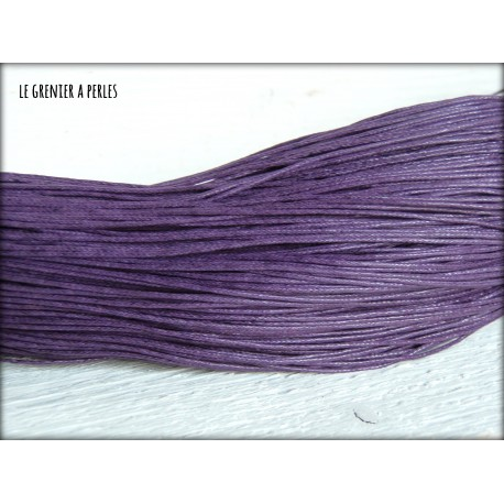 Coton Ciré Violet
