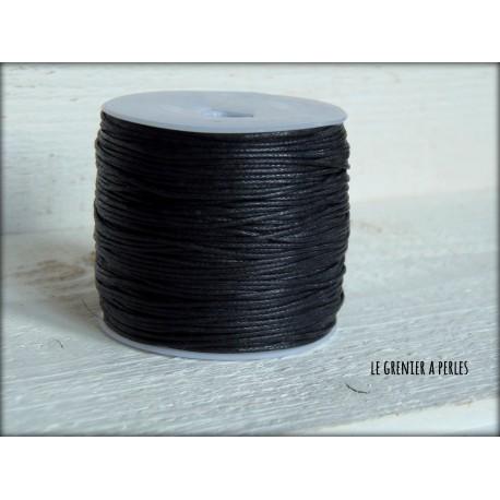 Coton Ciré Noir