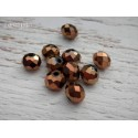 Perles ABACUS 8 mm BRONZE X 10
