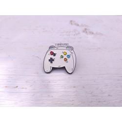 Pin's Retrogaming Manette de jeux vidéo * Pin's geek
