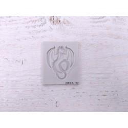 Moule Dragon Féerie * Moule silicone pour pâte polymère