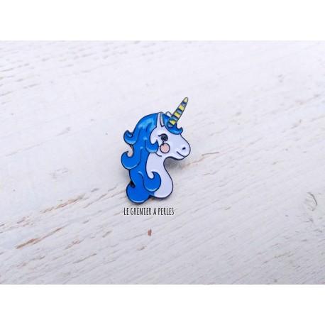 Pin's Licorne Bleue
