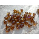 Toupies 4 mm Smoked Topaz AB X 50