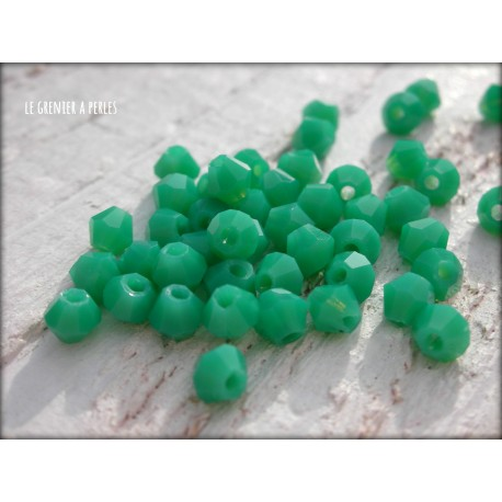 Toupies 4 mm Green Turquoise X 50