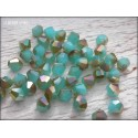 Toupies 4 mm Turquoise Opal AB X 50