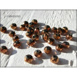 Perles Abacus 3 mm Bronze X 50