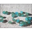 Gouttes 5 x 2 mm Turquoise Opal AB X 25