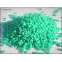 Rocailles MIYUKI 15/0 Turquoise Green Opaque ( 0412 )