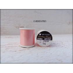 MIYUKI nylon beading thread B Rose
