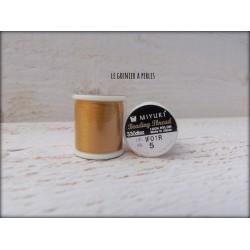 MIYUKI nylon beading thread B Gold  N° 05