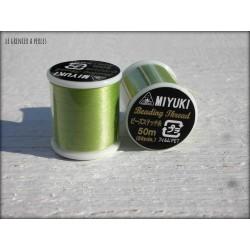 MIYUKI nylon beading thread B Perdidot N° 16