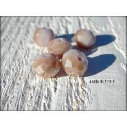 Perles ABACUS 10 mm Lila Jade AB x 5
