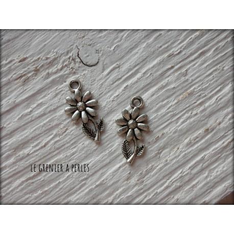 Breloque Petite fleur x 2