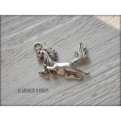 Breloque Cheval au galop x 1