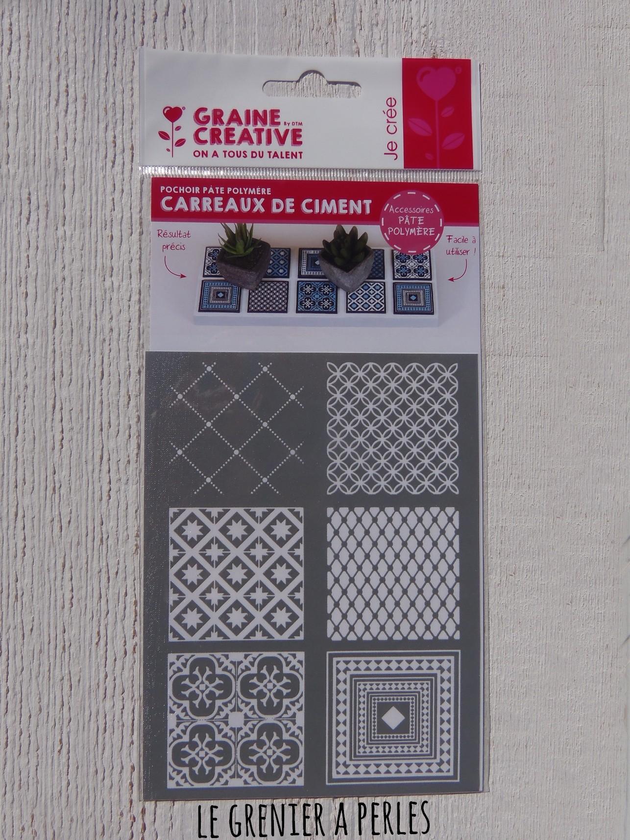 Silkscreen Ecran de S/érigraphie Carreaux de Ciment