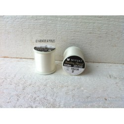 MIYUKI nylon beading thread B Eggshell  N° 02