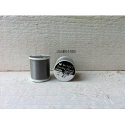MIYUKI nylon beading thread B Silver  N° 21