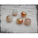 Perles ABACUS 10 mm Jade Doré x 5