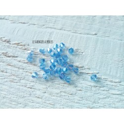 Toupies 4 mm Light Sapphire X 50