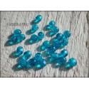 Facettes 4 mm Capri Blue x 50