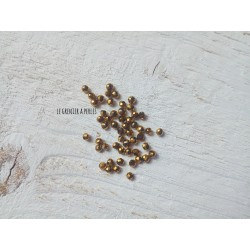 Perles Abacus 3 mm Light Bronze X 50