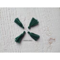 Petit Pompon ( fils de coton ) Vert