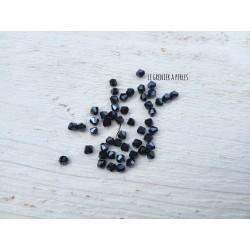 Toupies 3 mm Hématite X 50