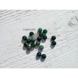 Perles Dragon's  veins Agate 6 mm X 10