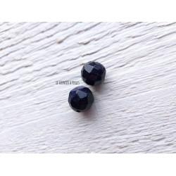 Ronde Facettée 12 mm Blue Sandstone X 1