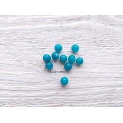 Perles Jade * Turquoise * 6 mm X 10