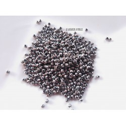 Perles Abacus 2 mm Argent  X 50