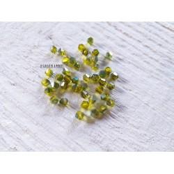 Toupies 4 mm Citron Vert X 50