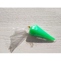 Fausse chantilly Vert Pailleté * 40 grammes