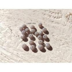 Perles Abacus 6 mm Grey  X 20