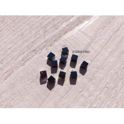 Perles Cubes 4 mm * Hématite