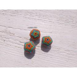 Perles perlées en Rocailles Miyuki * 20 mm