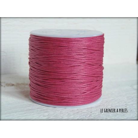 Coton Ciré Rose Fuschia