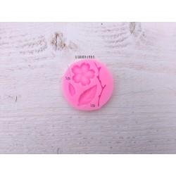 Moule Fleur de cerisier * Moule silicone pour pâte polymère