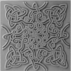 """Plaque de texture """" Celtic Knot """" CERNIT"""