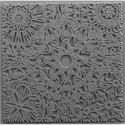 """Plaque de texture """" Mandala """" CERNIT"""