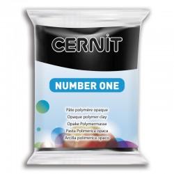 Pâte CERNIT Number One Noir N° 100